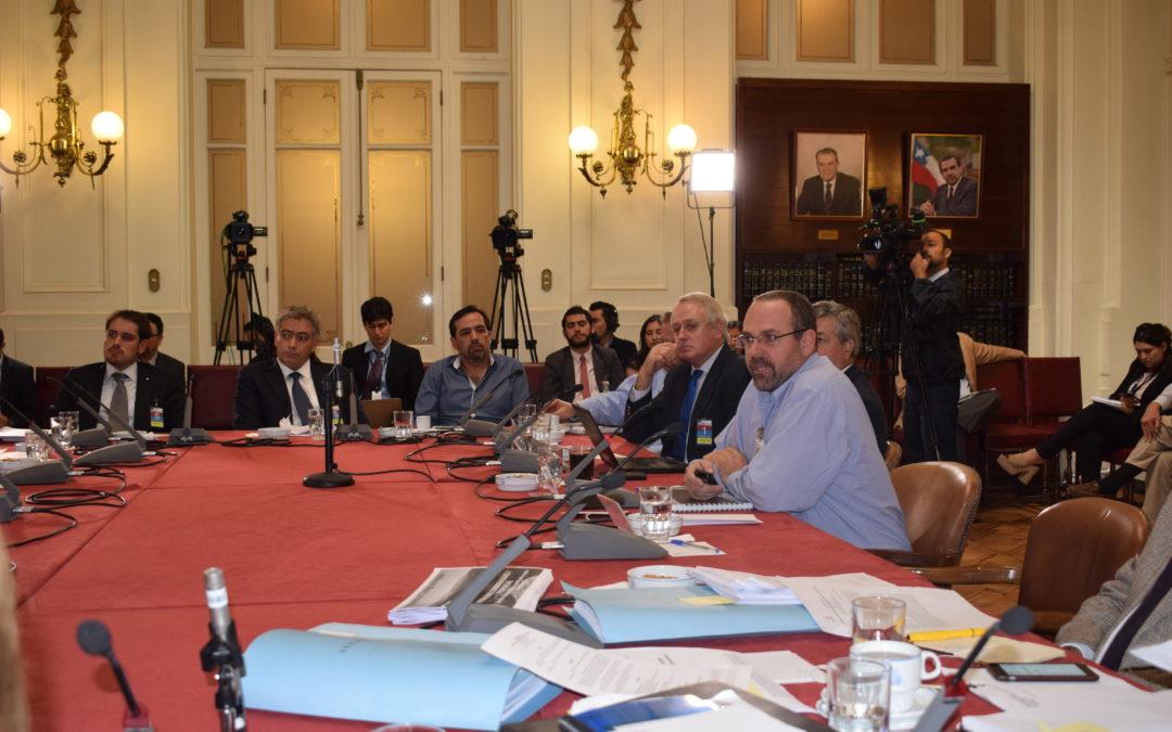 Presentación en Comisión Especial de Recursos Hídricos, Desertificación y Sequía